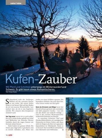 natur / reise Mit Pferd und Schlitten unterwegs im ... - Travel Tele