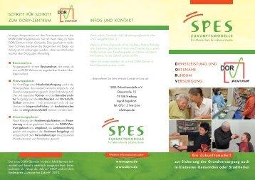 schritt für schritt zum dorv-zentrum infos und kontakt - SPES ...