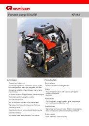 Portable pump BEAVER KR113