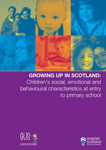 Growing Up In Scotland - Scottish Government