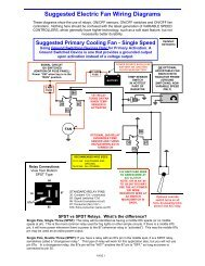 Suggested Electric Fan Wiring Diagrams – DaveBarton.com