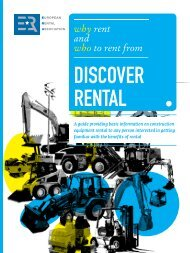 why rent and who to rent from - ERA European Rental Association