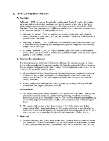 Illinois, Screening [PDF] - National Center for Hearing Assessment ...