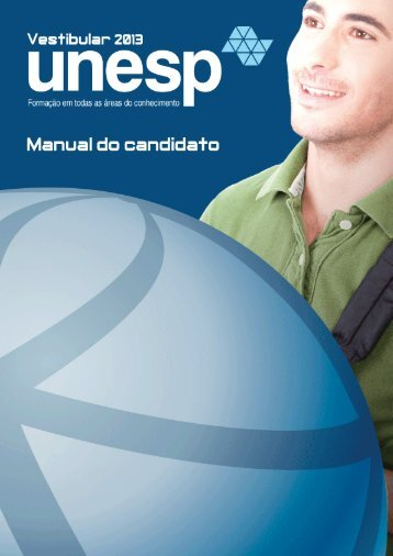 Manual do Candidato - Unesp