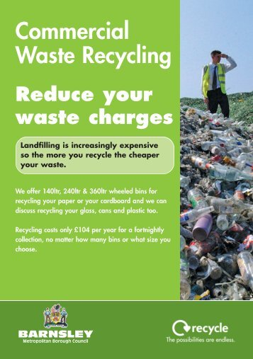 commercial waste recycling leaflet. - Barnsley Council Online