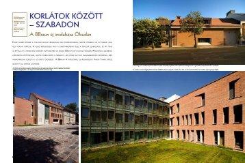 KorlátoK Között – szabadon - PORR Építési Kft.