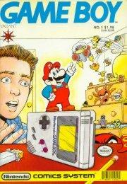 Game Boy Comic Book - Defunct Games