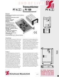 download - Schuhmann Messtechnik