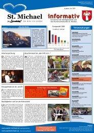 Informativ Juni 09 - Verein Wirtschaft St. Michael