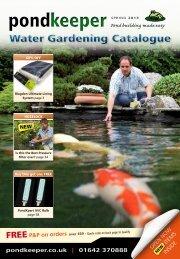 Water Gardening Catalogue - Pondkeeper