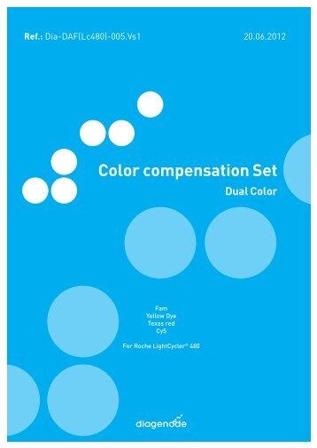 Color compensation Set - Diagenode Diagnostics