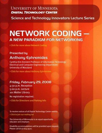 Download flyer (PDF 156 KB) - Digital Technology Center ...
