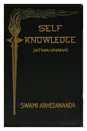 Self-Knowledge - Swami Vivekananda