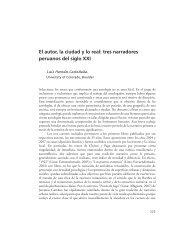 """""""El autor, la ciudad y lo real: tres narradores peruanos del siglo XXI""""."""