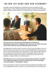 GUCKLOCH-Interview mit Manfred Pohl - WHG