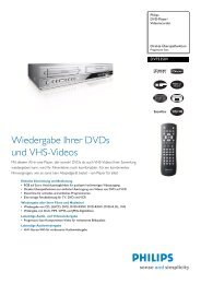 DVP3350V/01 Philips DVD-Player/Videorecorder - Weltbild.at