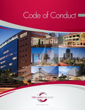 Code of Conduct - Orlando Health
