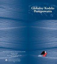 Globalny Kodeks Postępowania Globalny Kodeks Postępowania