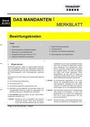 Bewirtungskosten 02 2012 - Steuerberater Schelly Hamburg