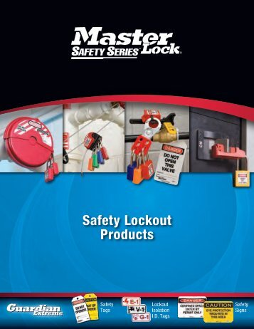 Masterlock Safety Lockout Products - Dixie Construction Products