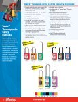 Masterlock Safety Lockout Products - Dixie Construction Products - Page 4