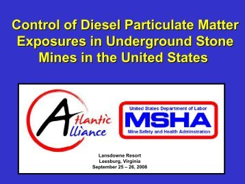 Diesel Particulate Matter - Safequarry.com