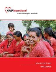 Jahresbericht 2007 - AWO international