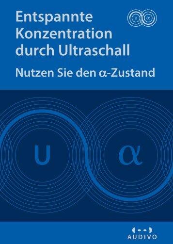 Entspannte Konzentration durch Ultraschall - uSonic