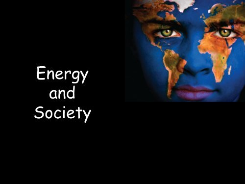 Where is the Energy coming from? - ISNAP