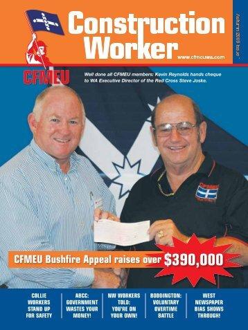 Well done all CFMEU members