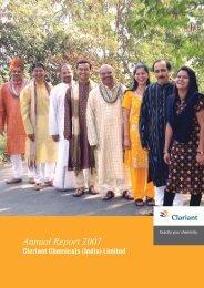 Annual Report 2007 - Clariant