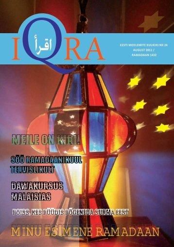 Iqra kuukiri nr.24 - Islam