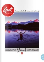www.beyondyoga.ch in Spot Ausgabe 02/2014