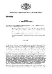 OVG 1 B 176/05 (pdf, 28.5 KB) - Oberverwaltungsgericht Bremen