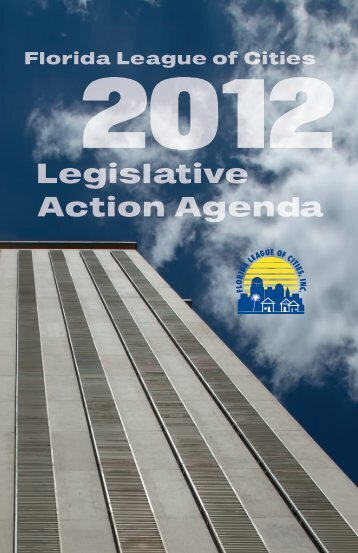 Legislative Action Agenda - Florida League of Cities