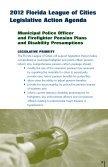 Legislative Action Agenda - Florida League of Cities - Page 3