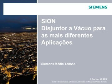 SION Sales Presentation - Industry