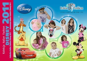 Katalog Italian Fashion Disney 2011