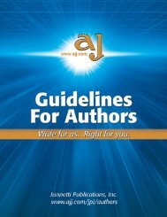 Jannetti Publications Guidelines For Authors - Pediatric Nursing