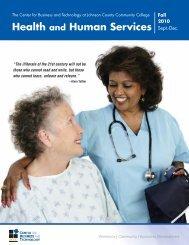 Fall 2010 Health and Human Services Catalog - Johnson County ...