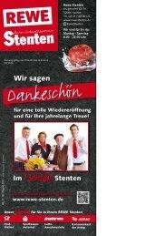 REWE Stenten Werbung Kw15