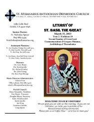 View Online - Saint Athanasius Antiochian Orthodox Church