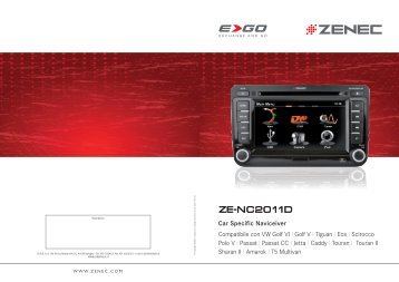 ZENEC E>GO ZE-NC2011D