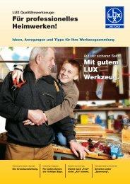 LUX Qualitätswerkzeuge: Für professionelles ... - AX Soling