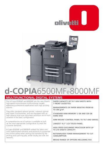 Olivetti d-Copia 8000MF