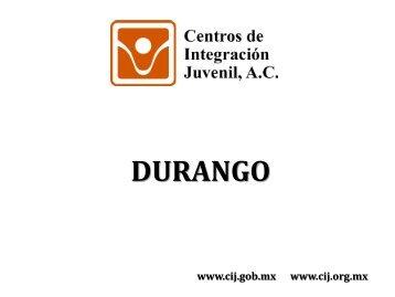 Durango - Centros de Integración Juvenil