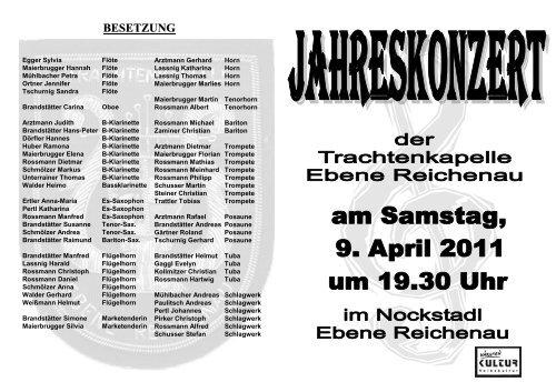 Einladung 2011
