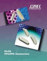 ELCO FFC/FPC Connectors