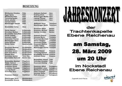 Einladung 2009