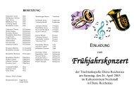Einladung 2003